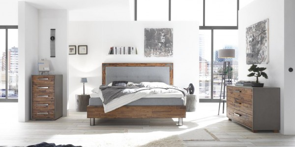 Hasena Oak Line Palermo XL Ivio Cadro 23 Bed