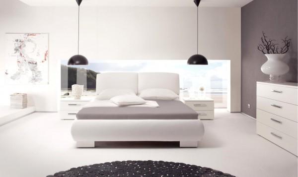 Wasserbett oder Gelbett komplett Dream Line Deluxe mit Isello Kopfteil inkl. Reca Füße