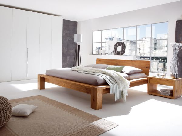 Hasena Oak-Wild Cortina Cobo Sion Bed