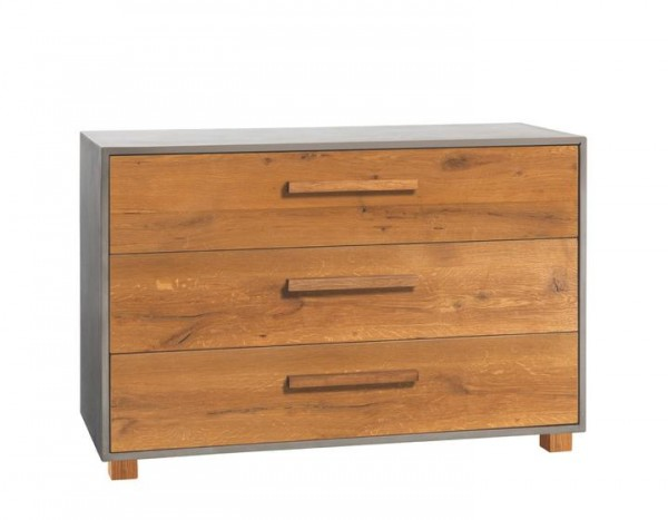 Hasena Oak Line Chest Commode